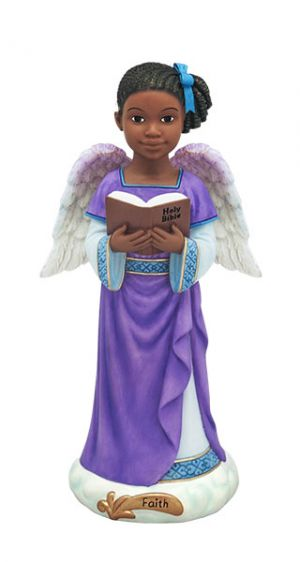 Angels Of Inspiration African American Figurines