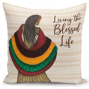 Blessed Life Pillow Cover