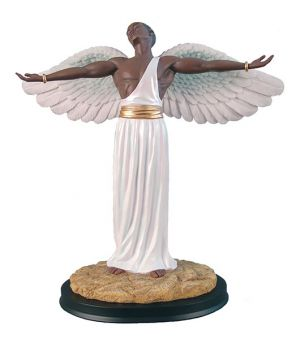 Feeling The Spirit African American Figurine