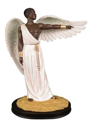 Guidance African American Figurine