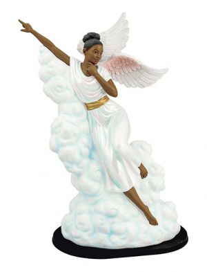 Pointing The Way African American Figurine