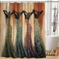 Dance Of The Summer Solstice African American Shower Curtain