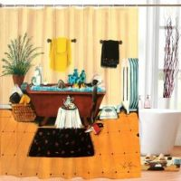 Steeping And Soaking African American Art Designer Shower Curtain