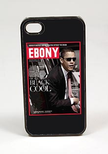 Black Cool African AmericanCell Phone Case