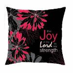 Joy of the Lord Message Pillow